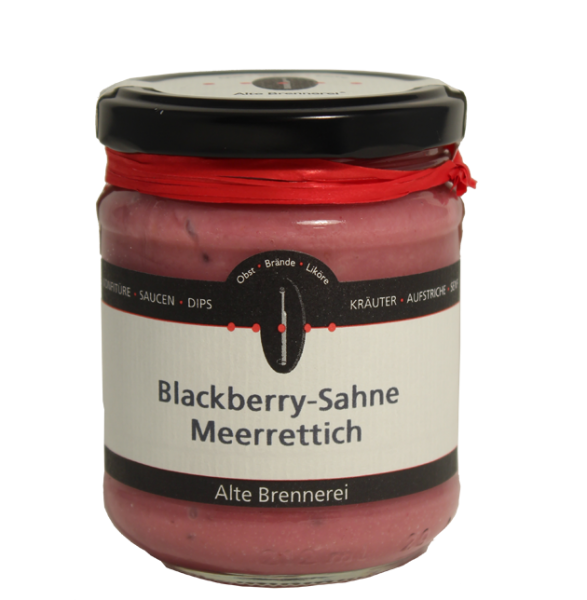 Blackberry-Sahne-Meerrettich 170ml